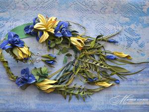 Комплект  «Акварели весны». Ярмарка Мастеров - ручная работа, handmade.