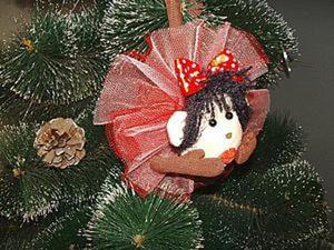 Делаем ёлочную игрушку «Обезьянка». Ярмарка Мастеров - ручная работа, handmade.