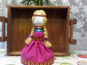Славянская народная кукла оберег На замужество. Ярмарка Мастеров - ручная работа, handmade.
