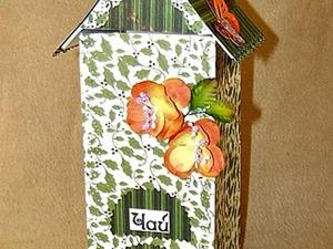 Чайный домик из картона, своими руками.. Ярмарка Мастеров - ручная работа, handmade.