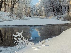 Теория времён года — снежная зима. Ярмарка Мастеров - ручная работа, handmade.