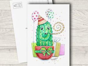 Всемирный день почтовой открытки!. Ярмарка Мастеров - ручная работа, handmade.