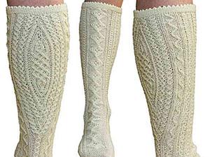 Из истории вязания: традиционные баварские носки. Ярмарка Мастеров - ручная работа, handmade.
