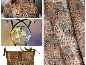 Гобеленовая ткань ВОЯЖ — безоговорочный лидер по пошиву сумок!. Ярмарка Мастеров - ручная работа, handmade.