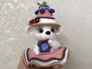Новая работа в магазине — белая мышка в шляпе со скидкой!!!. Ярмарка Мастеров - ручная работа, handmade.
