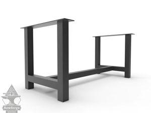 Мебель: Металлическое подстолье Н-образное 9700 рублей. Ярмарка Мастеров - ручная работа, handmade.