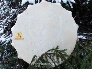 Шаманский бубен Дух Медведя. Ярмарка Мастеров - ручная работа, handmade.