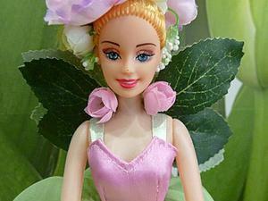 Волшебное превращение Барби в цветочную Фею. Ярмарка Мастеров - ручная работа, handmade.