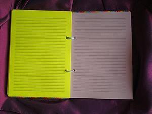 Разлиновка страниц для блокнота в линию. Ярмарка Мастеров - ручная работа, handmade.