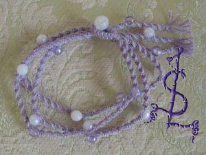 Создаем браслет «Тройная спираль». Ярмарка Мастеров - ручная работа, handmade.