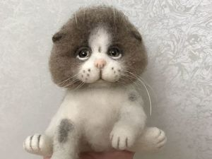 Скидка на заказы -40% !!! Цена котенка по акции 3000рублей!. Ярмарка Мастеров - ручная работа, handmade.