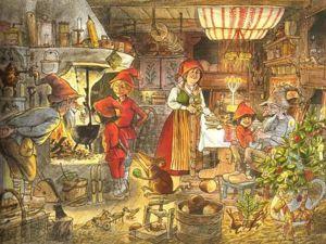 Рождественские истории шведского писателя и художника Sven Nordqvist: чудеса случаются!. Ярмарка Мастеров - ручная работа, handmade.
