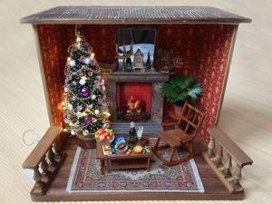 Румбокс Новогодняя гостиная. Ярмарка Мастеров - ручная работа, handmade.