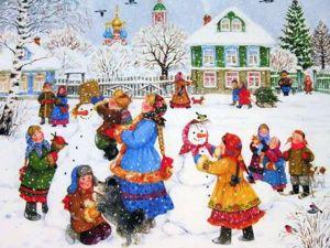 Пусть все беды заметёт озорным снежком..)!!! (друзьям пожелание). Ярмарка Мастеров - ручная работа, handmade.