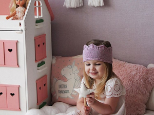Вяжем повязку на голову для девочки «Маленькая принцесса». Ярмарка Мастеров - ручная работа, handmade.