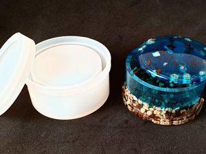 Обзор двух новых молдов для создания шкатулок. Ярмарка Мастеров - ручная работа, handmade.