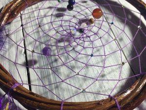 Астрологический ловец снов. Ярмарка Мастеров - ручная работа, handmade.