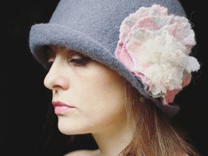 В Новом году — новая шляпка:) -50% на все головные уборы. Ярмарка Мастеров - ручная работа, handmade.