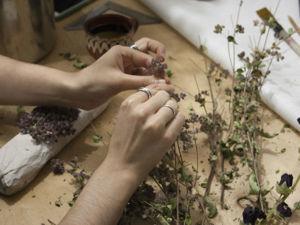 Как нетривиально упаковать работы с помощью сухоцветов. Ярмарка Мастеров - ручная работа, handmade.