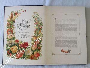 Фотоальбом альбом для фото Language Flowers Англия 2. Ярмарка Мастеров - ручная работа, handmade.