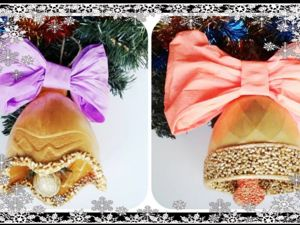 Мастерим новогодние украшения из пластиковых бутылок. Ярмарка Мастеров - ручная работа, handmade.