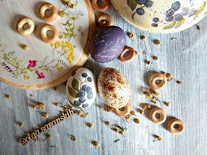 Как просто украсить пасхальные яйца? 4 доступных способа росписи яиц. Ярмарка Мастеров - ручная работа, handmade.
