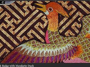 Традиции китайской вышивки. Знаки отличия чиновников.. Ярмарка Мастеров - ручная работа, handmade.