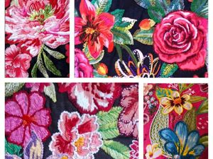 Paradise Gardens of Brazilian Embroidery. Livemaster - handmade