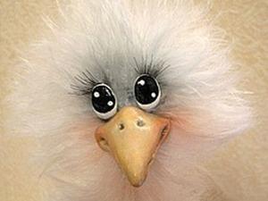 Мастерим «Чудо-птичку» из пушистой пряжи. Ярмарка Мастеров - ручная работа, handmade.