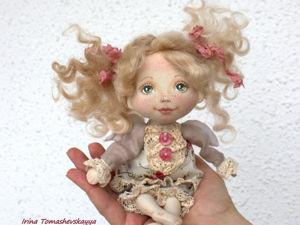 Нужно ли проклеивать ткань для тела куклы. Ярмарка Мастеров - ручная работа, handmade.
