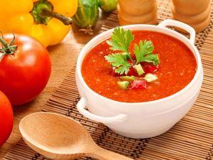 Суп весенний холодный . Испанский суп ГАСПАЧО.Смотрите видео !. Ярмарка Мастеров - ручная работа, handmade.