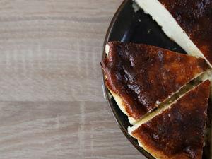 Баскский чизкейк с загорелой корочкой. Очень нежный и вкусный!. Ярмарка Мастеров - ручная работа, handmade.