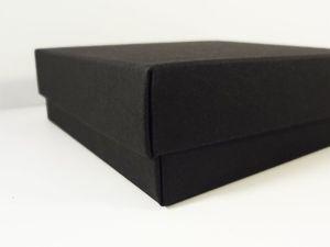 35х25х7 см — самосборная коробка крышка-дно. Ярмарка Мастеров - ручная работа, handmade.