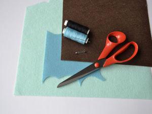 Шьем простую и милую брошку-птичку из фетра. Ярмарка Мастеров - ручная работа, handmade.