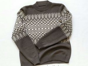 Скидка 25% только 18 и 19 сентября на новый свитерок. Ярмарка Мастеров - ручная работа, handmade.