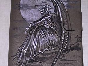 "Мастер-класс: чехол для планшета ""Ангел смерти"". Ярмарка Мастеров - ручная работа, handmade."