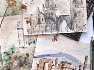 Фантастическая Европа или Правила поведения в иных городах. Ярмарка Мастеров - ручная работа, handmade.