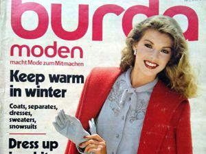 Burda Moden № 10/1980. Фото моделей. Ярмарка Мастеров - ручная работа, handmade.