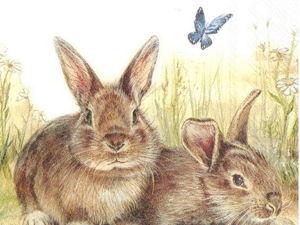 Пасхальные зайчики — мило и мало :). Ярмарка Мастеров - ручная работа, handmade.