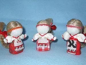 Создаем куколку «На счастье» в традиционной текстильной народной технике. Ярмарка Мастеров - ручная работа, handmade.