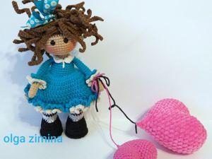 Вяжем куколку Валентинку. Ярмарка Мастеров - ручная работа, handmade.