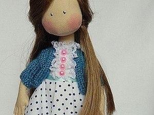 Как быстро и просто связать кофточку для куклы. Ярмарка Мастеров - ручная работа, handmade.