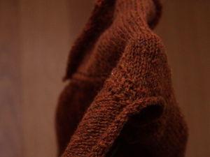 Кофта из шерсти ягненка мериноса в работе. Ярмарка Мастеров - ручная работа, handmade.