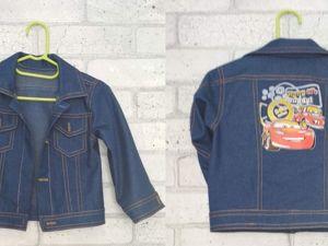 Видео мастер-класс: пошив джинсовки для своего малыша. Ярмарка Мастеров - ручная работа, handmade.