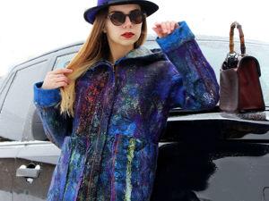 Аукцион на весеннюю валяную курточку!!!. Ярмарка Мастеров - ручная работа, handmade.