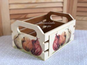 Средняя корзинка для Дмитрия. Ярмарка Мастеров - ручная работа, handmade.