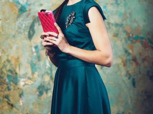 Самое последнее платье  «Севилья»  изумруд. Ярмарка Мастеров - ручная работа, handmade.