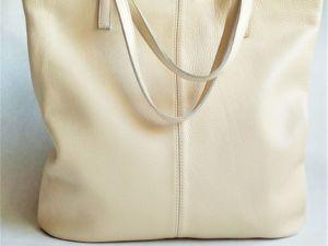 Кожаная сумка на заказ. Ярмарка Мастеров - ручная работа, handmade.