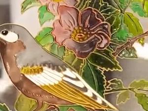 Видео мастер-класс по витражной росписи. Ярмарка Мастеров - ручная работа, handmade.