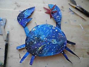 Делаем «Звездного Рака» из картона. Ярмарка Мастеров - ручная работа, handmade.